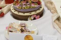2016_10_06 RAW torta s jedlými kvetmi - narodeninová 001